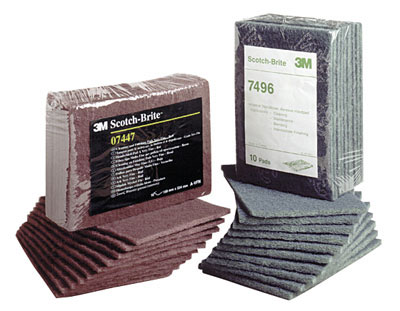 Abrasives - 3M - Non-Woven - Hand Pads